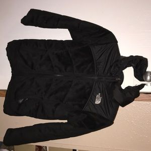 The North Face double sided black jacket